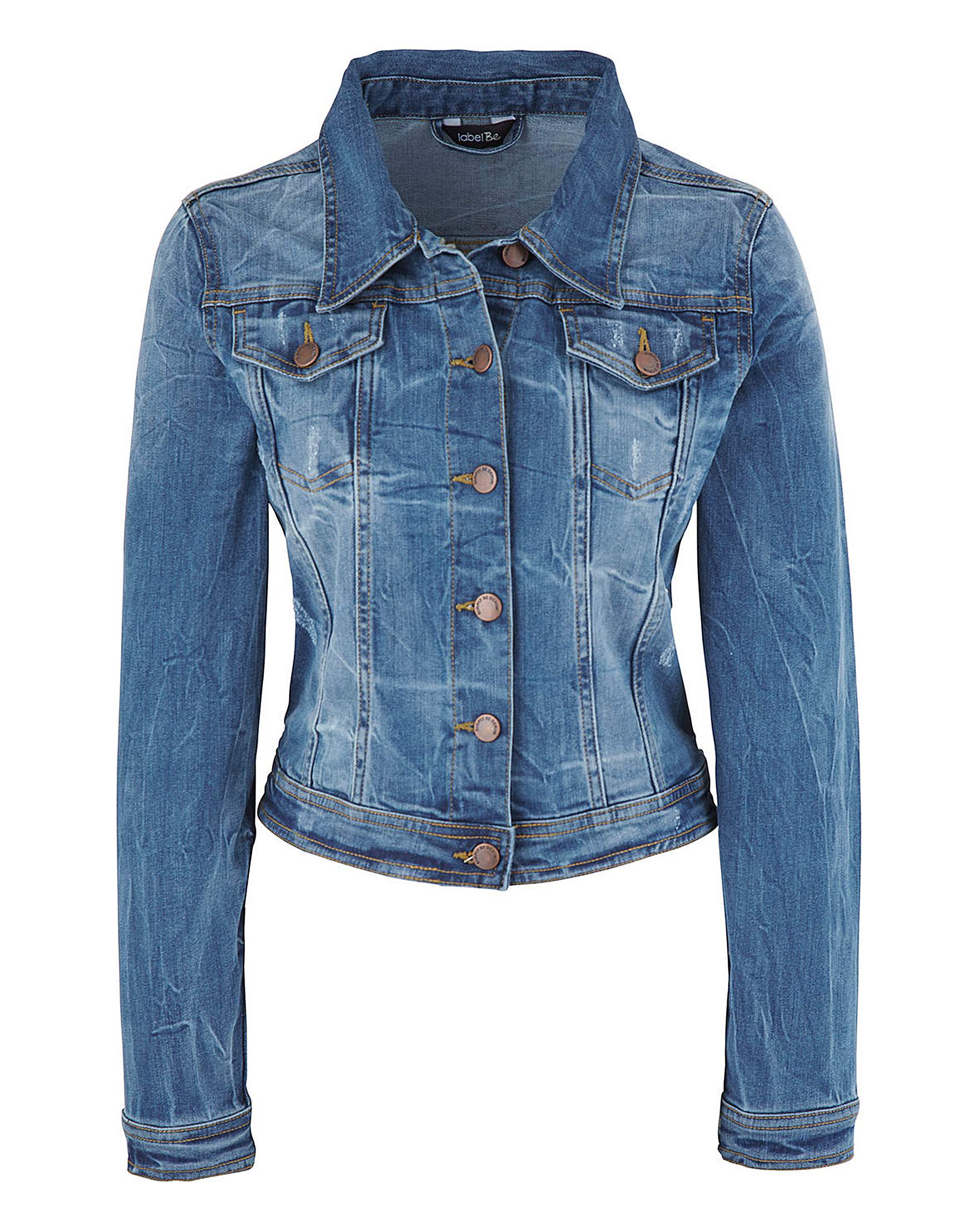 Stonewash Denim Jacket | Simply Be