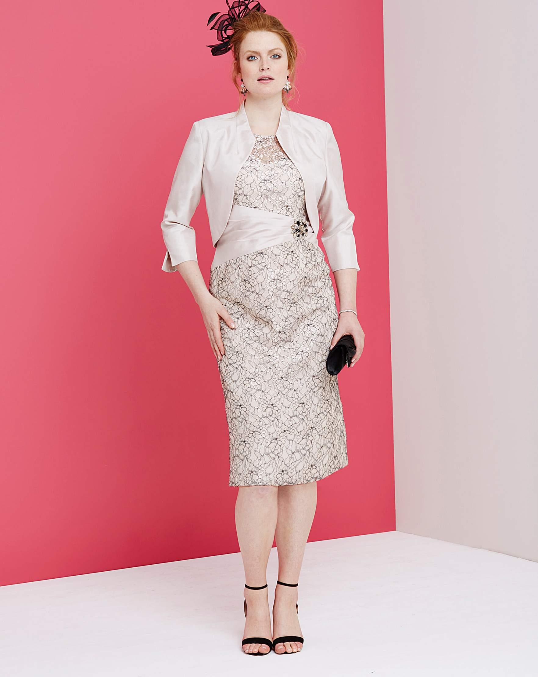 Nightingales Lace Dress and Jacket   Marisota