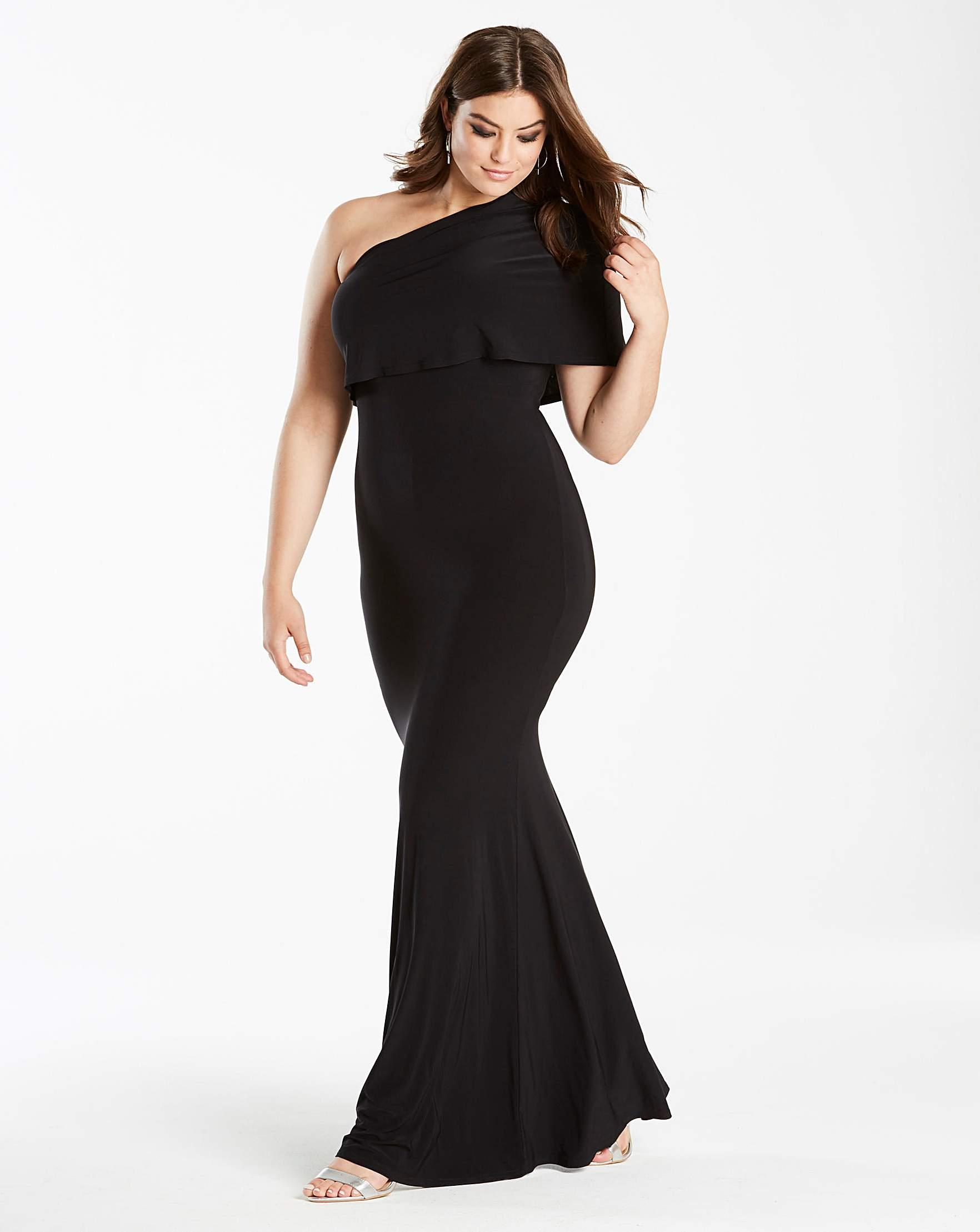 Navy maxi dress size 22