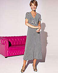 Striped Dress Length 45 in.
