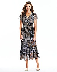 Mosaic Dress L48in