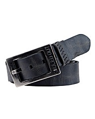 Souled Out Leather Belt