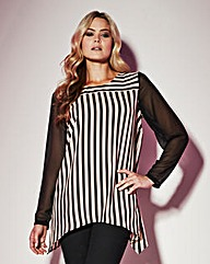 Grazia Striped Blouse
