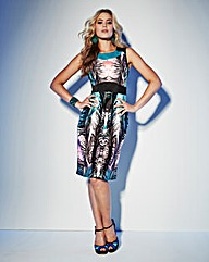 Grazia Print Pencil Dress