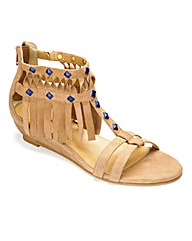 Catwalk Collection Fringe Gladiator EEE