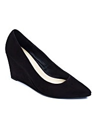 Sole Diva Pointy Wedge EEE Fit