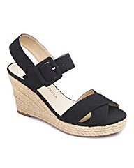 Jeffrey & Paula Cross Over Wedge EEE Fit