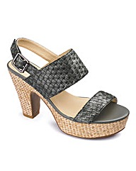 Jeffrey and Paula Woven Shoe E Fit