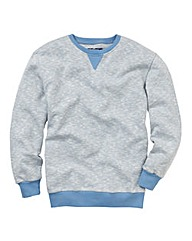 Label J Crew Neck Sweatshirt Long