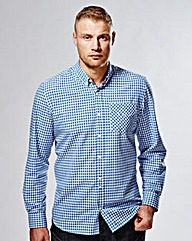Flintoff By Jacamo Long Sleeve Shirt L
