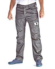 Eto Grey Wash Jean 33in Leg