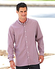 Ben Sherman Gingham Shirt Long