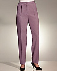 Slimma Adjustable Clip Trouser 25in