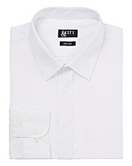 &City Mighty Single Cuff Plain Shirt