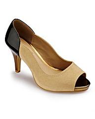 Joanna Hope Peep Toe Shoe EEE Fit