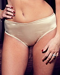 Splendour Diamante Back Knickers