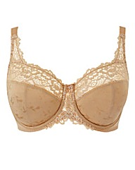 Wired Minimiser Natural Ruby Bra