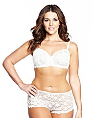 2 Pack Daisy Lace Black/Ivory Bras