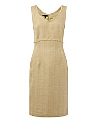 Murek V-neck Linen-look Dress