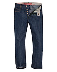 UNION BLUES Mens Button Fly Jeans 33