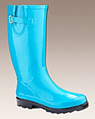 Viva La Diva Plain Wellies EEE Fit