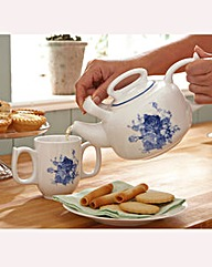 Twin Handle Teapot