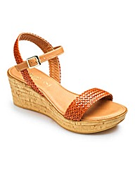 Lotus Interweave Sandals EEE Fit