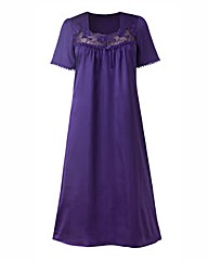 Naturally Close Satin Nightdress 44in