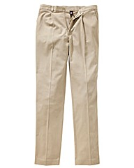 &Brand Pleated Chino 38in Leg