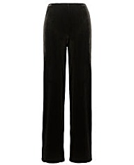 Joanna Hope Velour Palazzo Trousers 27in