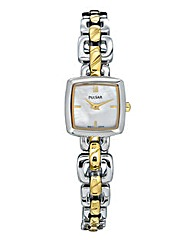 Pulsar Ladies Two-Tone Bracelet Watch