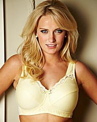 Shapely Figures Lemon White Sarah Bras