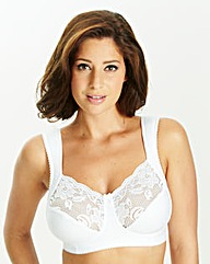 Miss Mary White Non Wired Bra