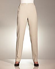 Straight Leg Pull On Trousers 25in