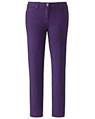 Simply Be Coloured Slim Leg Jeans Tall