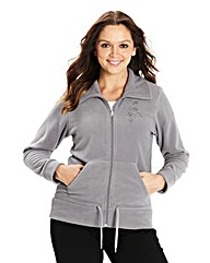 Body Star Yoga Fleece Track Top