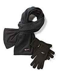 Nike Ladies Scarf and Glove Set