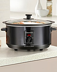 Morphy Richards 3.5L Slow Cooker Black