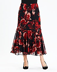 Hudson & Onslow Print Skirt Length 32in