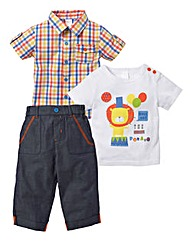 Zip Zap Lion 3 Piece Set