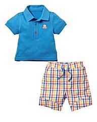 Zip Zap Boys Shorts and T-shirt Set