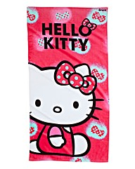 Personalised Hello Kitty Ink Towel