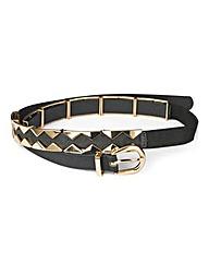 Gold Stud Belt