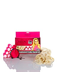 Sleep In Rollers Brunette Blow Dry Kit