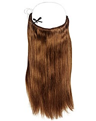 Halo 16in Hair Extensions Light Chestnut