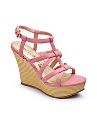 And Abigail Strappy Wedge Sandals D Fit