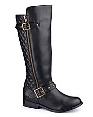 Legroom Hi Leg Boots Curvy Calf E Fit