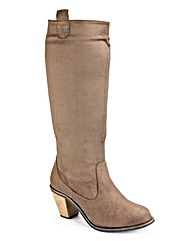 Simply Be Hi Leg Boot EEE Fit
