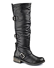 Dolcis Hi Leg Buckle Boot EEE Fit