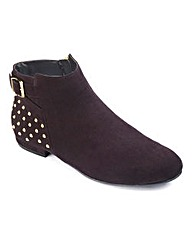 Sole Diva Studded Boot EEE Fit